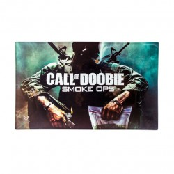 call of doobie glass rolling tray large