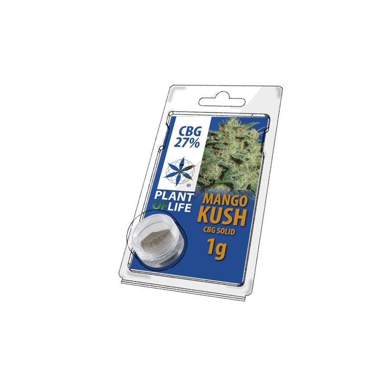 CBG pressed hemp pollen MAngo kush flavour Plant of life wholesaler