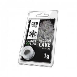 jelly 18% cbd wedding cake