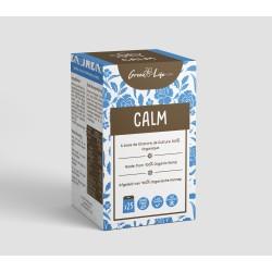 calm infuso di canapa con cbd. Contiene 25 bustine di tè. In vendita all'ingrosso online