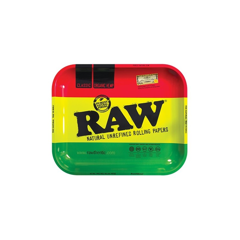 Raw Rawsta metal rasta rolling tray wholesale