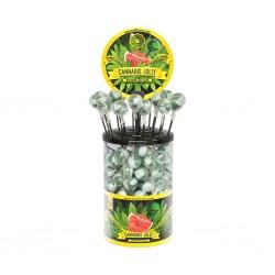 watermelon kush cannabis lollipops retail display for wholesale multitrance