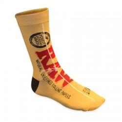 Raw vegan cotton socks for wholesale
