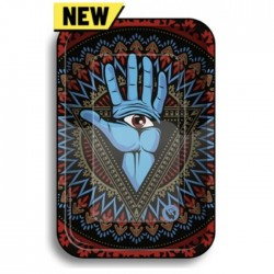 fire-flow trippy 3rd eye smokers rolling tray for wholesale