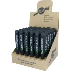 amsterdam joint tube holders in a display for wholesale