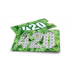 GRINDER CARD - 420 GREEN