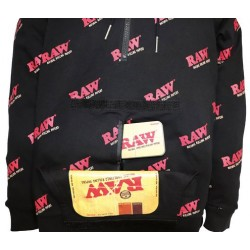RAW ROLLING PAPERS  HOODIE - L