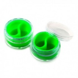 Silicone Jar Green