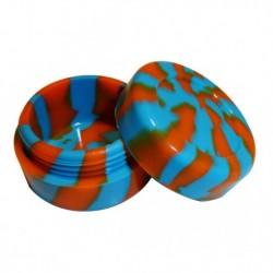 Silicon jar - Blue / Orange