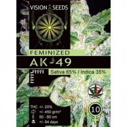 AK-49 Fem Vision - 5 Seeds