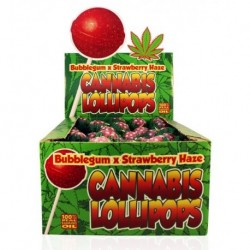 Hemp Lollipop - Bubblegum x...