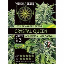 Crystal Queen 5 Seeds Fem -...