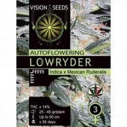 Lowryder Feminized  3 Semi...