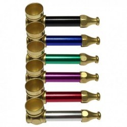 Display of Metal smoking pipes for wholesale