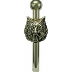 Gold Metal Sniffer Wolf...