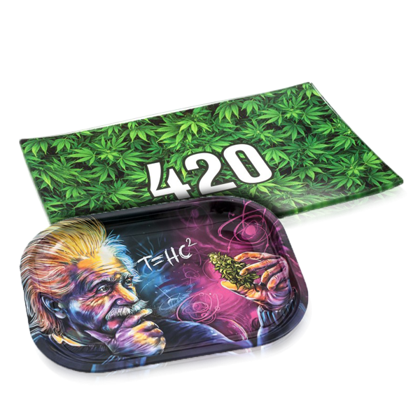 Metal Rolling Trays and Magnetic Covers