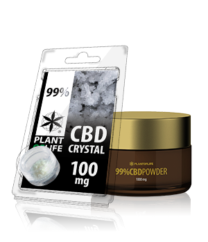 CBD & CBG Crystals